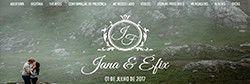 Site de Casamento Jana e Efix